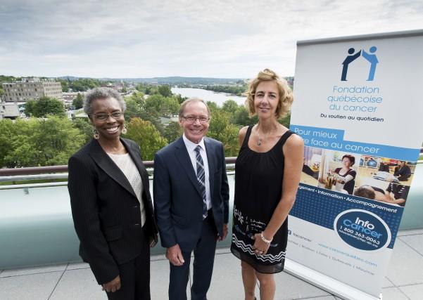 La Fondation québécoise du cancer invite la population... (Spectre Média, Jessica Garneau)