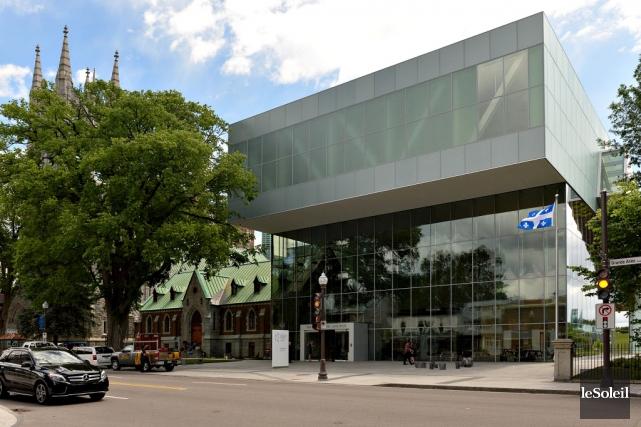 Le pavillon Pierre Lassonde du Musée national des... (Le Soleil, Patrice Laroche)