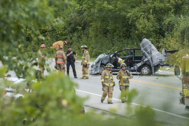 Pour une raison indéterminée, une conductrice a perdu... (Spectre Média, Frédéric Côté)