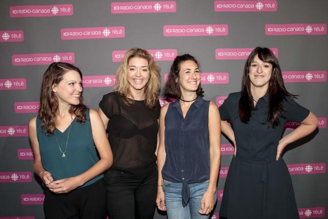 Les principales interprètes féminines des Simone Rachel Graton,... (La Presse, Hugo-Sébastien Aubert)