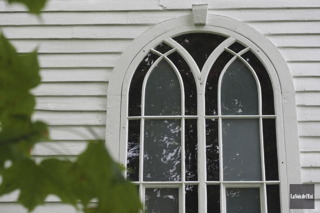 L'église anglicane St-Paul fait partie des beaux sites... (Christophe Boisseau-Dion, La Voix de l'Est)