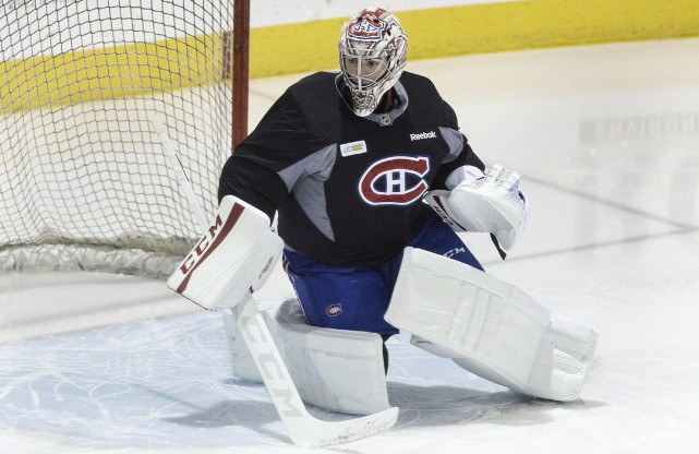 Carey Price et ses comparses ne revêtiront pas... (La Presse canadienne, Graham Hughes)