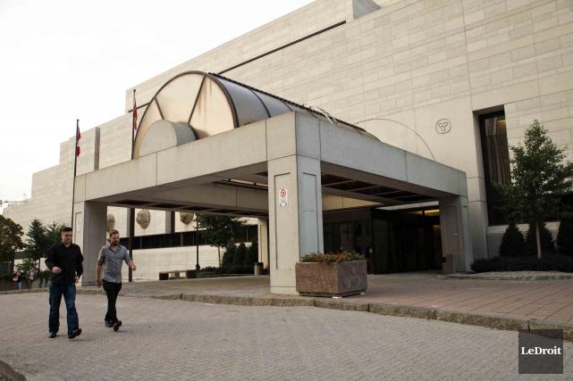 Le palais de justice d'Ottawa... (Martin Roy, Archives Le Droit)