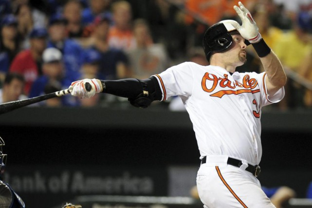 Matt Wieters... (PHOTO Evan Habeeb, USA TODAY Sports)