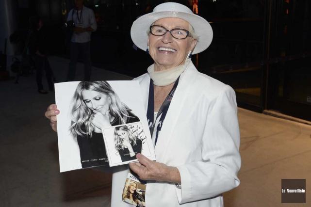 Angèle Newbury a rencontré Céline Dion quelques instants... (Sylvain Mayer, Le Nouvelliste)