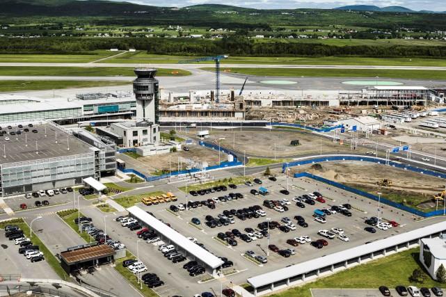 L'aéroport international Jean-Lesage aura investi, d'ici 2018, 500... (fournie par Aéroport de Québec inc.)