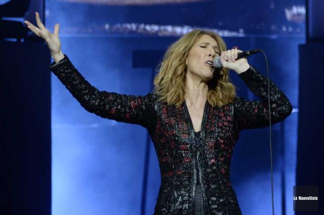 Céline Dion a offert mardi soir le premier... (Sylvain Mayer, Le Nouvelliste)