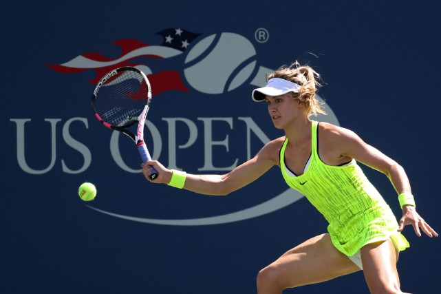 Eugenie Bouchard n'aura fait que passer aux Internationaux... (Photo Geoff Burke, USA Today Sports)