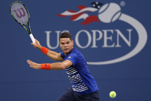 Milos Raonic est encore ennuyé par les effets des... (Photo Jerry Lai, USA Today Sports)