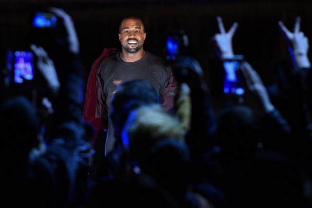 Kanye West... (Photo KAREN MINASYAN, archives Agence France-Presse)