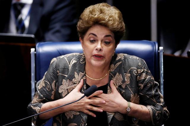La présidente du Brésil Dilma Rousseff a été... (photo Ueslei Marcelino, archives REUTERS)