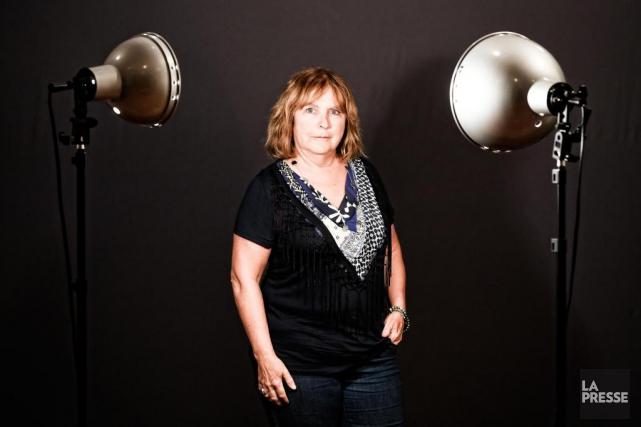 Lucie Robitaille a entre autres travaillé avec avec... (Photo Bernard Brault, La Presse)