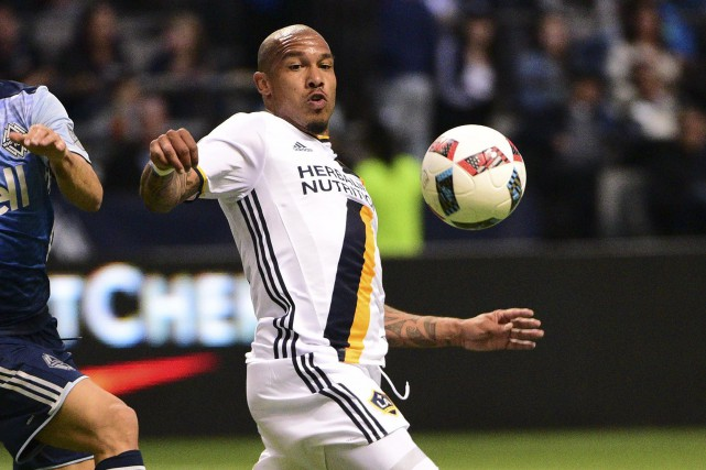 Nigel de Jong... (Photo Anne-Marie Sorvin, USA Today Sports)