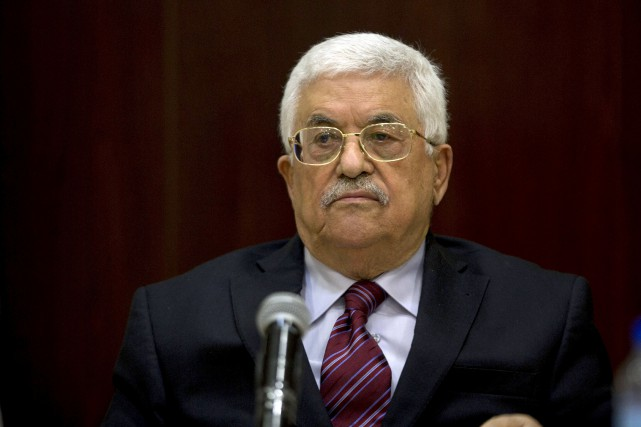 Le président de l'Autorité palestinienne, Mahmoud Abbas... (PHOTO ARCHIVES REUTERS)
