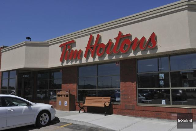 Tim Hortons poursuit son expansion internationale et envisage d'ouvrir ses... (Photothèque Le Soleil)