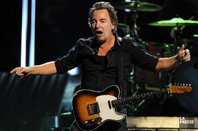 Bruce Springsteen a déclaré au public que ses... (archives La Presse)