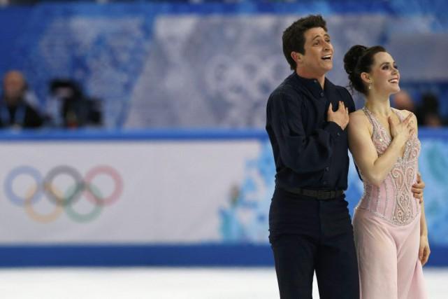 Scott Moir et Tessa Virtue, aux Jeux olympiques... (PHOTO ALEXANDER DEMIANCHUK, ARCHIVES AGENCE FRANCE-PRESSE)