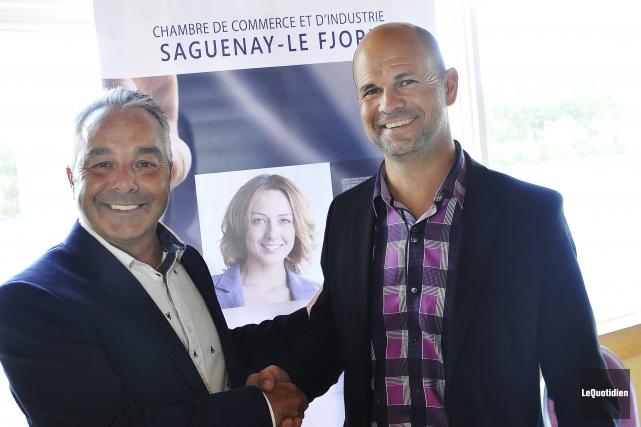 Francois Gagné cède sa place comme président de... (Photo Le Quotidien, Rocket Lavoie)