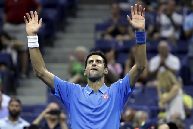 Lors de sa victoire contre Jerzy Janowicz lundi,... (Associated Press)