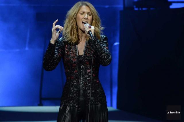 Céline Dion a présenté deux spectacles à Trois-Rivières.... (Photo Sylvain Mayer, archives Le Nouvelliste)