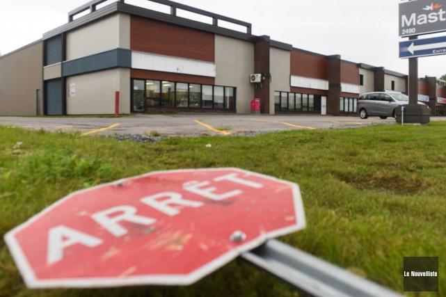 L'enseigne de l'entreprise Emballages Bettez a été retirée.... (François Gervais, Le Nouvelliste)