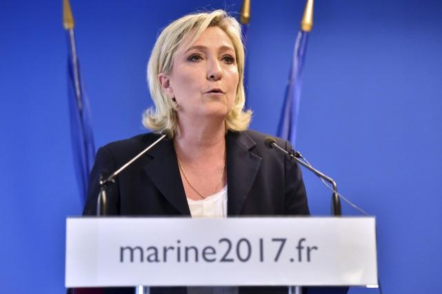 Marine Le Pen... (Archives Agence France-Presse, Alain Jocard)