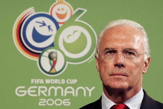 Franz Beckenbauer... (Photo Pascal Pavani, AFP)