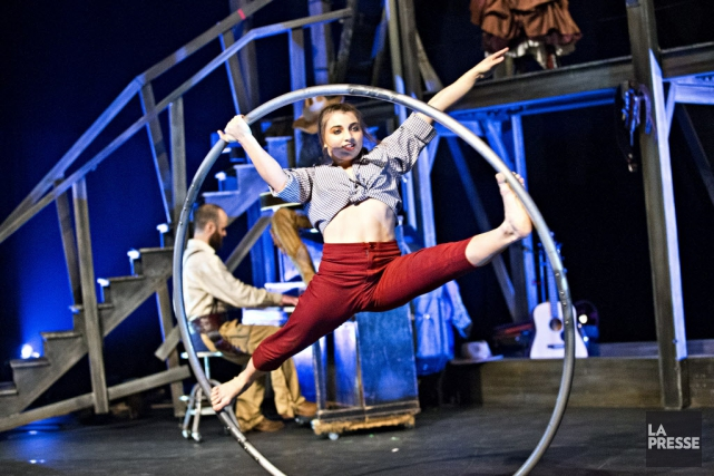 Le Cirque Éloize explore le Far West dans... (Photo: La Presse)