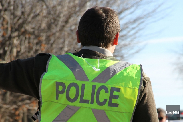 La police a arrêté un Montréalais de 29 ans à la suite d'une altercation... (archives La Voix de l'Est)