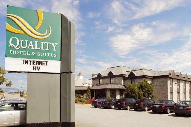 Une menace de grève plane sur l'Hôtel Quality de Sherbrooke à la suite d'un... (Photo iBooked.ca)