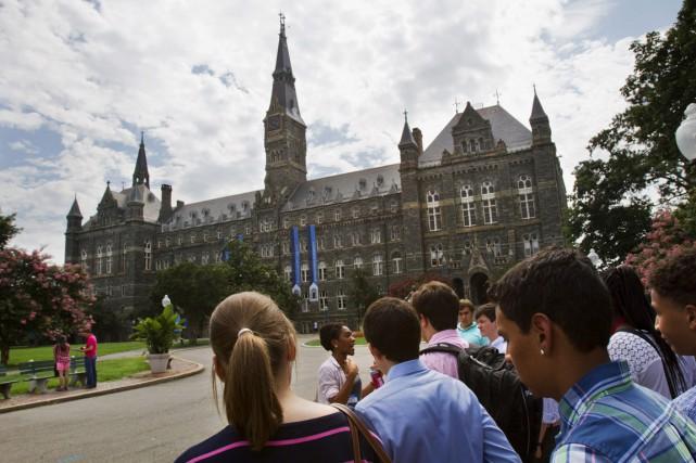 L'Université de Georgetown, l'une des plus anciennes aux... (photo Jacquelyn Martin, archives AP)