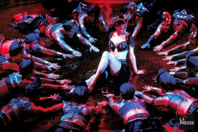Une scène de Moulin Rouge du réalisateur australien... (PHOTO ARCHIVES LA PRESSE)