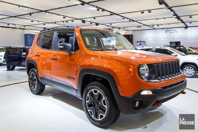 La version européenne diésel du Jeep Renegade est... (PHOTO EDOUARD PLANTE-FRECHETTE,  LA PRESSE)