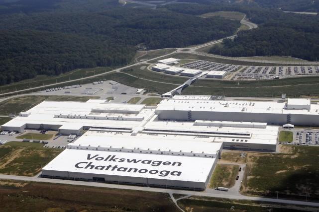 Depuis 2013, l'usine Volkswagen de Chattanooga est le... (Photo: Volkswagen)