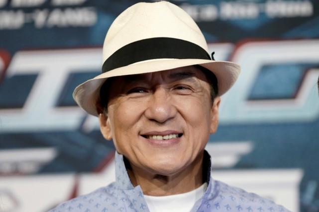 La star de films d'actions Jackie Chan va recevoir un Oscar d'honneur a annoncé... (PHOTO ARCHIVES REUTERS)
