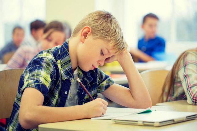 «Les dépenses par élève dans les écoles publiques... (Photo Thinkstock)