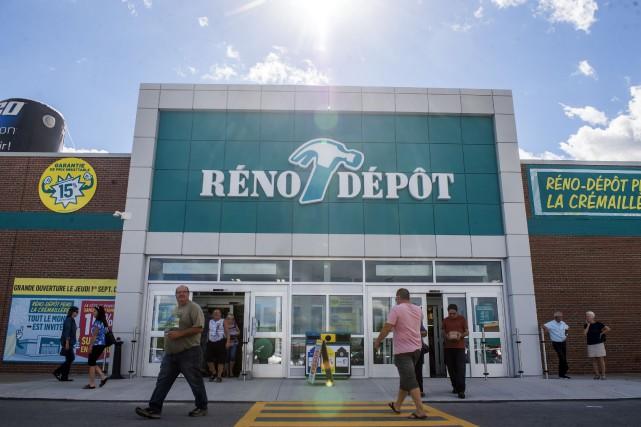 Le magasin Réno-Dépôt de Trois-Rivières, a ouvert ses... (Photo: Stéphane Lessard, Le Nouvelliste)