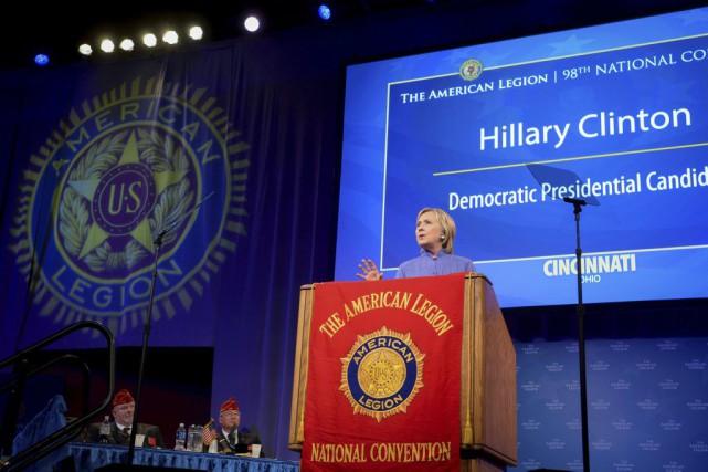 La candidate démocrate à la Maison-Blanche, Hillary Clinton... (PHOTO BRYAN WOOLSTON, REUTERS)