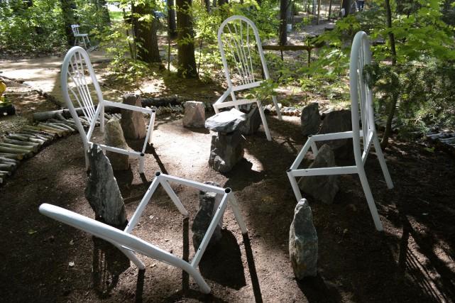 L'exposition Art dans les jardins / Migrationpropose aux... (Benoit Sabourin, LeDroit)
