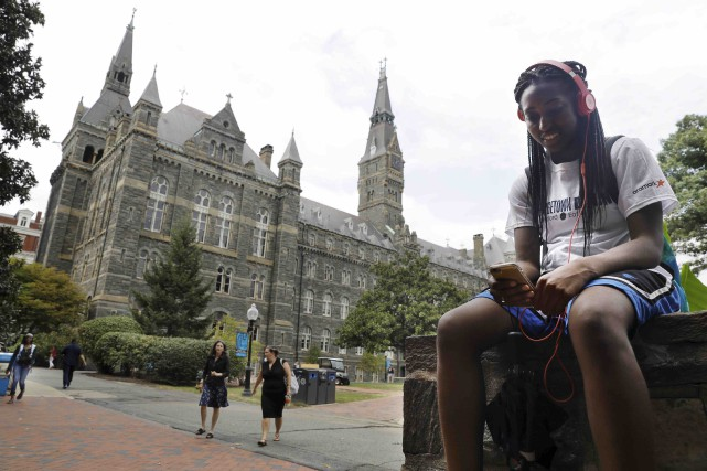 La prestigieuse université de Georgetown entend faciliter l'admission des... (AP, Jacquelyn Martin)