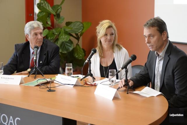 Le président du conseil d'administration du Fonds de... (Photo Le Quotidien, Jeannot Lévesque)