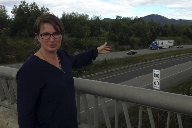 Mélanie Lelièvre, directrice générale de l'organisme Corridor appalachien,... (Photo fournie, Corridor appalachien)
