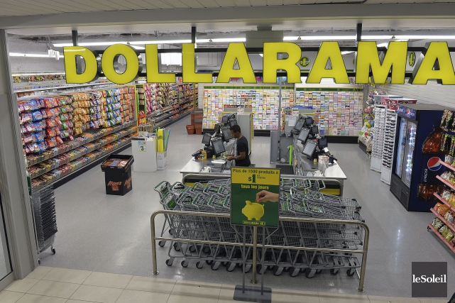 Pour la période terminée le 31 juillet, Dollarama... (Photothèque Le Soleil)