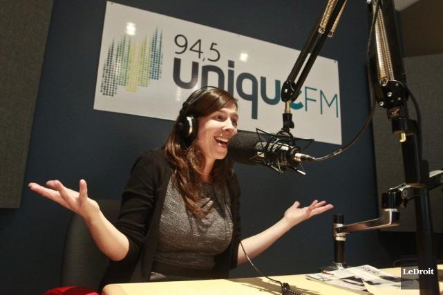 La directrice générale d'Unique FM, Véronique Soucy, s'est... (Patrick Woodbury, Archives LeDroit)