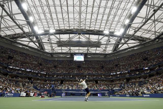Le Britannique Andy Murray n'a pas beaucoup apprécié... (Photo AFP)