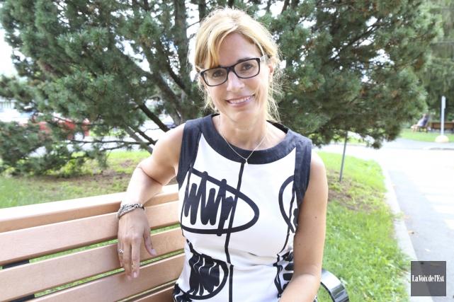 Marie-Ève Fafard a contracté la maladie de Lyme... (Janick Marois, La Voix de l'Est)