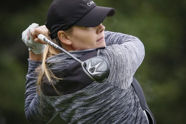 Maude-Aimée Leblanc espère terminer sa saison en force... (La Presse Canadienne)