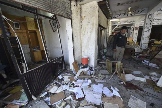 Un kamikaze a mené une attaque contre un... (PHOTO A MAJEED, AFP)