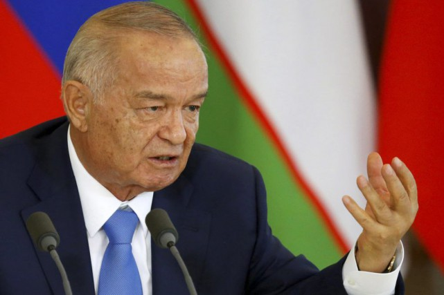Le président ouzbek Islam Karimov... (Photo Maxim Shemetov, archives Reuters)