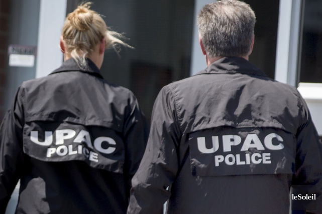 La Sûreté du Québec et l'Unité permanente anticorruption... (Photothèque La Presse, Marco Campanozzi)